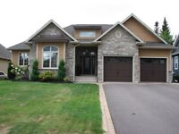 Home for Sale, Dieppe NB-Executive Bungalow in Fox Creek Dev