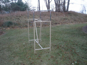 TWO-SIDED ADJUSTABLE CLOTHING RACK London Ontario image 5