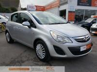 VAUXHALL CORSA EXCITE AC 2011 Petrol Automatic in Silver