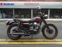 2015 15 plate Kawasaki W800 in Black 7718 miles