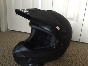 ATV Helmet - XXL Flat Black