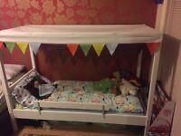Ikea children's 4 poster bed