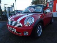 2009 Mini Hatchback 1.4 One 3dr, 1 former keeper,2 keys,FSH,Low rate finance ...