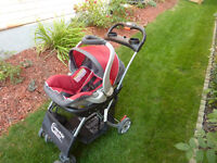 BabyTrend Stroller and Infant Seat