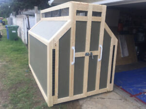 Unique Bike Barn/Storage Shed 5w x 8l x 6h $950 delivered