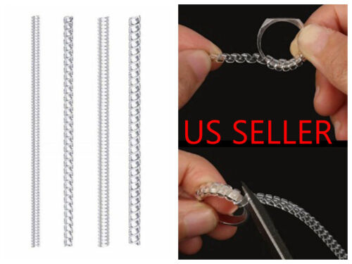 4pc Ring Size Adjuster for Loose Rings Jewelry Guard Spacer Sizer Fitter USA