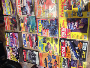 car magazines from the1980's West Island Greater Montréal image 1