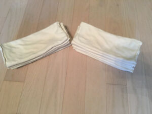 12 Applecheeks 2-ply Bamboo Inserts for Cloth Diapers