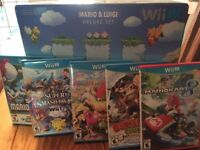Wii U with 6 games and Pro controller