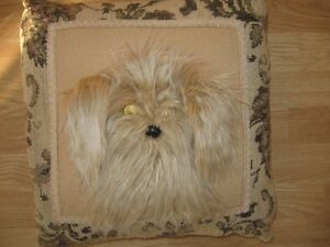 Decorative Puppy Pillow - new