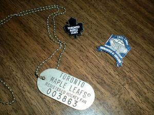 TORONTO MAPLE LEAFS COLLECTABLES Kitchener / Waterloo Kitchener Area image 1