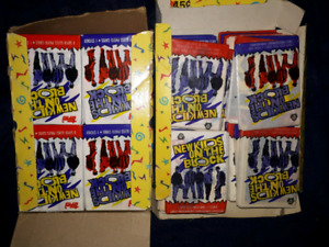 1980's New Kids On The Block Trading cards with Stickers