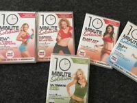 Exercise dvd boxset