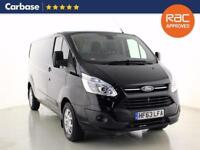 2013 FORD TRANSIT CUSTOM 2.2 TDCi 155ps Low Roof Limited Van