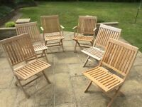 Barlow Tyrie Monaco folding chairs