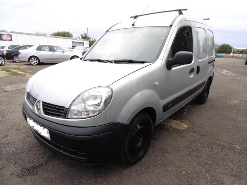 Renault Kangoo Van, Grey, 2007, 1 Years Mot, 3 Months Warranty