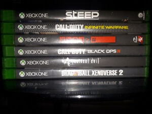 Bundle of Xbox one Games(6)