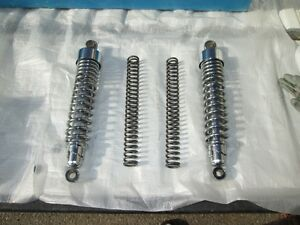 865 Triumph Thruxton Stock Suspension units