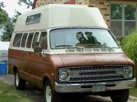 Vintage camper van conversion - good condition.