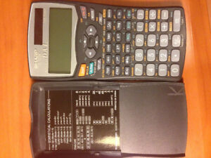 Calculatrice scientifique Sharp EL-520W.