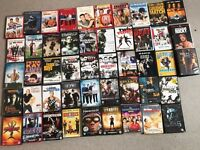 Variety of dvds for sale