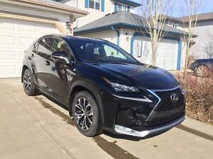 LEASE TAKEOVER 2015 Lexus NX 200t FSport Series 2 SUV