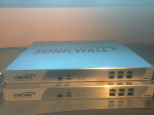 Sonicwall NSA 4500 Firewall with High Availability Device