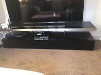 TV Unit with floating shelf