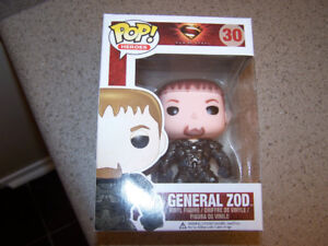 Funko POP! General Zod #30 Man Of Steel Vinyl Figure Box