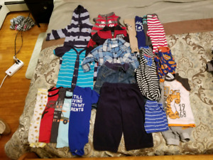 Boys size 6-12 months