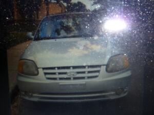 2002 Hyundai Accent Coupé  950$ .echange