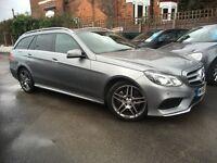 Mercedes E Class 3.0 E 350 CDI BLUETEC AMG SPORT TIP (palladium silver metallic) 2013