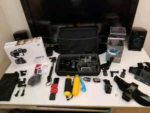 GoPro Hero 4 Touchscreen 4K with Stabilizer Zhiyun Rider M