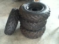 '05 Brute Force tires