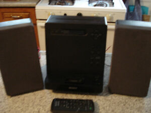 Sony micro stereo system with remote