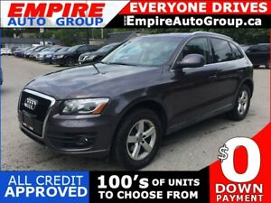 2010 AUDI Q5 PREMIUM PLUS * AWD * LEATHER * PANORAMIC SUNROOF