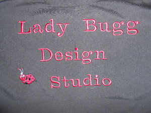 Custom digitizing and embroidery of logos and artwork