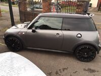 """2006 MINI COOPER S ***STUNNING IN GREY WITH 18"""" ALLOYS BLACK ROOF AND MATCHING DOOR MIRRORS***"""