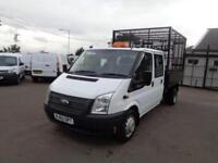Ford Transit D/Cab Tdci 100Ps [Drw] Euro 5 DIESEL MANUAL WHITE (2012)