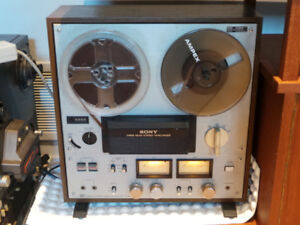 Vintage Sony TC-300 Three Head Stereo Reel To Reel Tape Recorder
