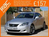 2007 Lexus IS IS220d 2.2 Turbo Diesel Sport 6 Speed Sat Nav Rear Cam Bluetooth H