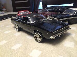 Dodge Charger 1968 diecast 1/18 die cast film Bullit