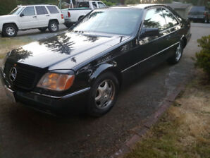 Mercedes S500c,  w140 coupe