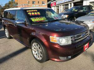 2009 Ford Flex LIMITED AWD 7 PASSENGER, PANO..MINT...GREAT DEAL