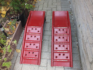 QUALITY STEEL AUTO/TRUCK  RAMPS,..MADE HERE IN NORTH AMERICA. Kitchener / Waterloo Kitchener Area image 1