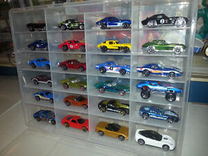 24 Assorted Corvettes With Case