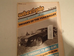 Vintage Collection of 6 WHEELSPIN NEWS Canada's Motorsport News Sarnia Sarnia Area image 6