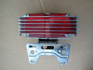 REAR TAIL LIGHT PLATE HOLDER