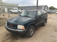 98 Chev Blazer - 4x4 - RUNS AND DRIVES GREAT -