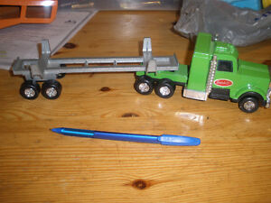 Tootsie Toy truck and trailer